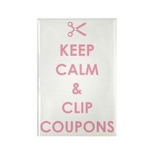 CLIP COUPONS Rectangle Magnet