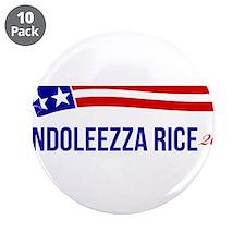 """Condoleezza Rice 2016 3.5"""" Button (10 pack)"""