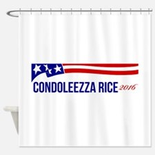 Condoleezza Rice 2016 Shower Curtain