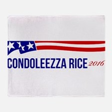 Condoleezza Rice 2016 Throw Blanket