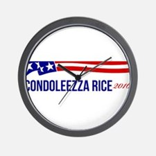 Condoleezza Rice 2016 Wall Clock