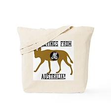 Greetings from Australia! Tote Bag