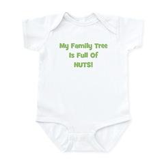 Family Tree green Infant Bodysuit