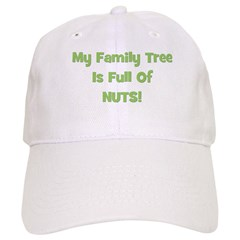 Family Tree green Baseball Cap