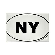 New York, NY Rectangle Magnet (100 pack)