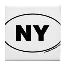 New York, NY Tile Coaster