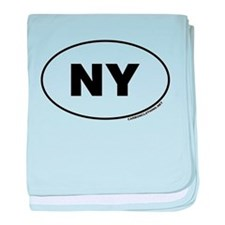 New York, NY baby blanket