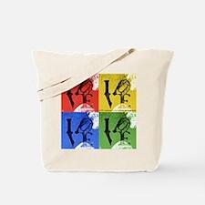 LOVE square RYBG.png Tote Bag