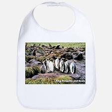 King Penguins Bib