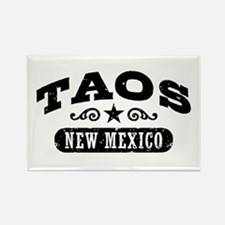 Taos New Mexico Rectangle Magnet