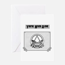 Youre Never Alone Greeting Card
