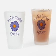 Worlds Greatest Grammy Drinking Glass