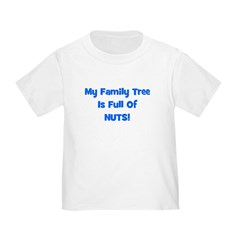 Family Tree blue Toddler T-Shirt