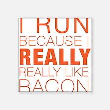 Run For Bacon Sticker