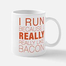 Run For Bacon Mug