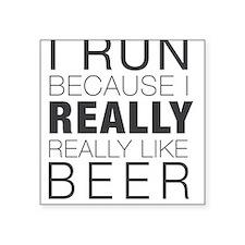 Run for Beer. Sticker