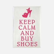 BUY SHOES Rectangle Magnet