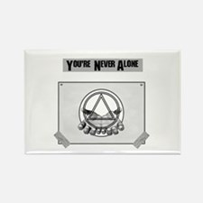 Youre Never Alone Rectangle Magnet