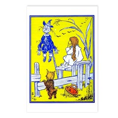 Meeting Scarecrow Postcards (Package of 8)