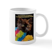 Funny Freida, the throw away kitty Mug