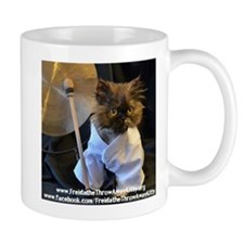 Cute Freida, the throw away kitty Mug