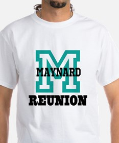 M Name Family Reunion Shirt