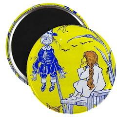 Meeting Scarecrow Magnet