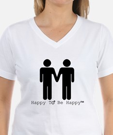 Happy to Be Happy Male T-Shirt