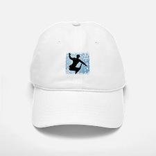 Snowboarding (Blue) Baseball Baseball Cap