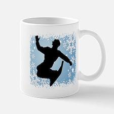 Snowboarding (Blue) Mug