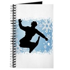 Snowboarding (Blue) Journal