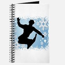 Snowboarding (Blue) Journal