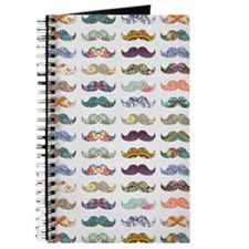Journal Mustache Mania
