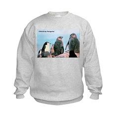 Chinstrap Penguins (Front) Sweatshirt