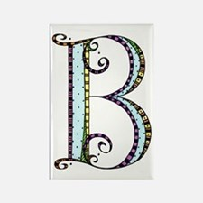 What Fun Monogram - B Rectangle Magnet