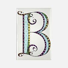 What Fun Monogram - B Rectangle Magnet