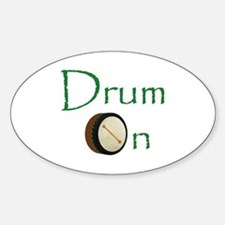 Bodhran - Drum On Decal