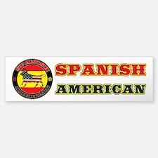 Spanish American Bull Bumper Bumper Bumper Sticker