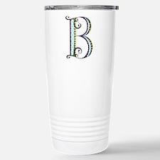What Fun Monogram - B Travel Mug