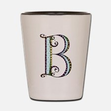 What Fun Monogram - B Shot Glass