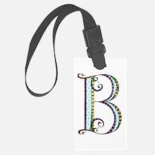 What Fun Monogram - B Luggage Tag