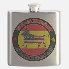 Spanish American Bull Flask