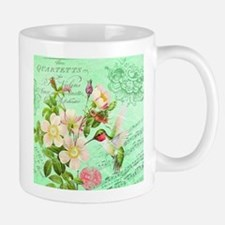 Modern vintage french hummingbird Mug