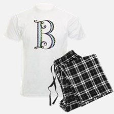 What Fun Monogram - B Pajamas
