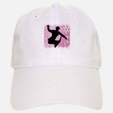 Snowboarding (Pink) Baseball Baseball Cap