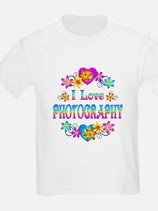 I Love Photography T-Shirt