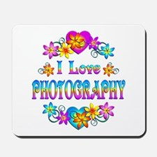 I Love Photography Mousepad