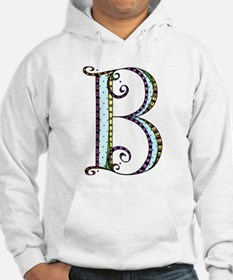 What Fun Monogram - B Hoodie