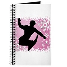 Snowboarding (Pink) Journal