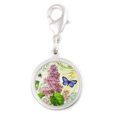 Modern vintage French botanical lilac Charms